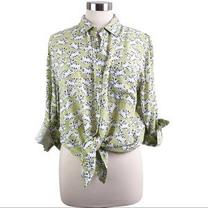 BeachLunchLounge | Kitty Cat Button Up Top